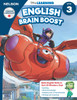 The Disney Learning Series - English Brain Boost Grade 3 Skills Workbook Front Cover