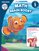 The Disney Learning Series - Math Brain Boost Grade 1 Skills Workbook Front Cover