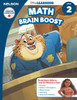 The Disney Learning Series - Math Brain Boost Grade 2 Skills Workbook Front Cover