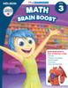 The Disney Learning Series - Math Brain Boost Grade 3 Skills Workbook Front Cover