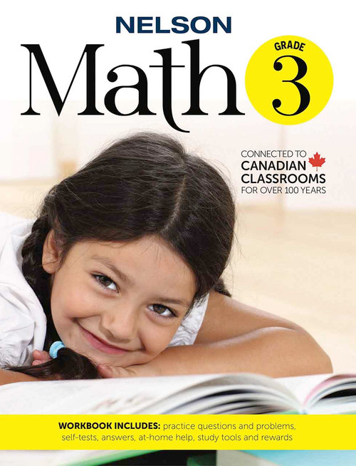 Nelson Math 3 - Workbook Front Cover