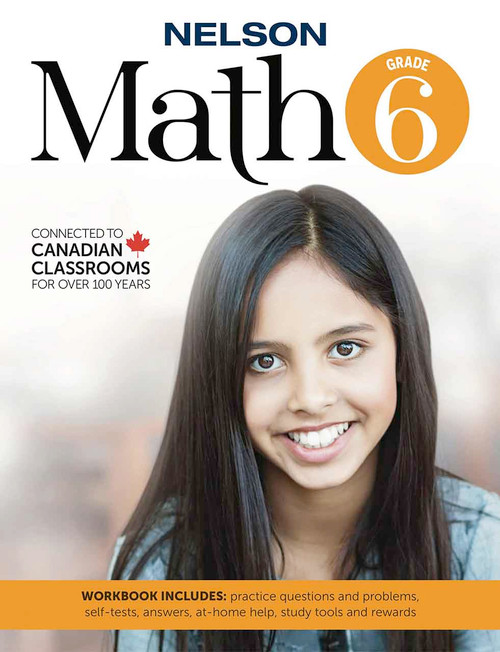 Nelson Math 6 - Workbook Front Cover