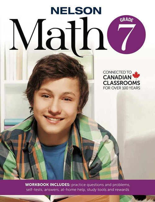 Nelson Math 7 - Workbook Front Cover