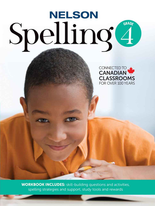Nelson Spelling 4 - Workbook Front Cover