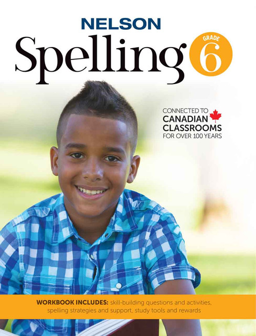 Nelson Spelling 6 - Workbook Front Cover