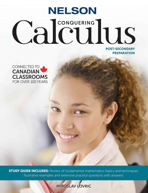 Nelson - Conquering Calculus Study Guide- Front Cover