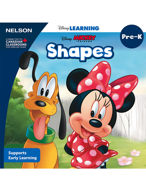 The Disney Learning Series - Shapes - PreK - Front Cover