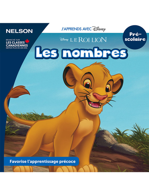 The Disney Learning Series - Les nombres - PreK - Front Cover