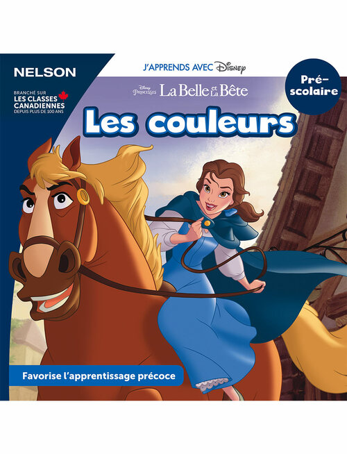 Disney Learning Series - Les couleurs - PreK - Front Cover