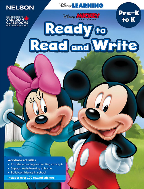 Disney Learning Series - Ready to Read and Write - PreK - Front Cover