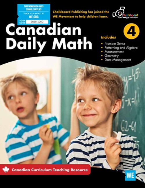 Canadian Daily Math 4 Front Cover