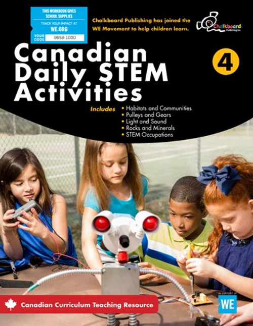 Canadian Daily STEM Activities 4 Front Cover