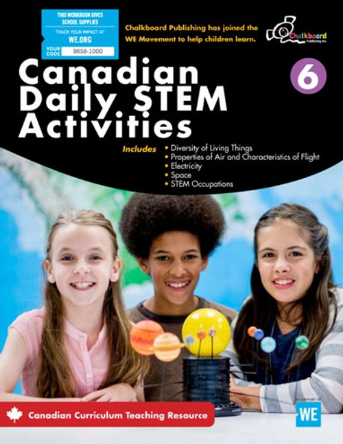 Canadian Daily Stem Activities 6 Front Cover