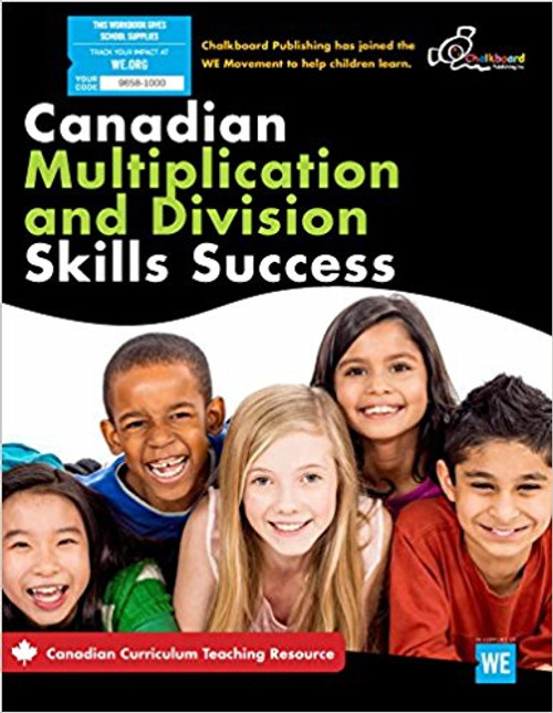 Canadian Multiplication And Division Skills Success 3-4  Front Cover