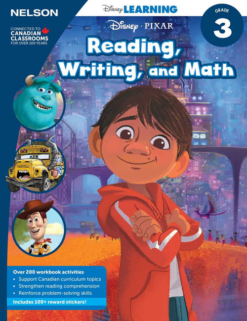 Disney Learning Series - Reading, Writing, and Math (Grade 3) Front Cover