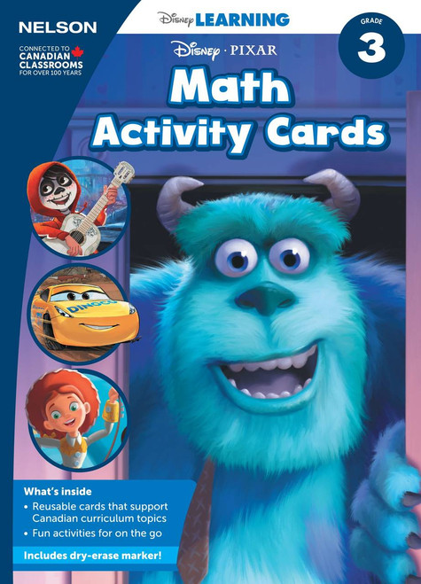 The Disney Learning Series - Math Activity Cards - 3 - Front Cover