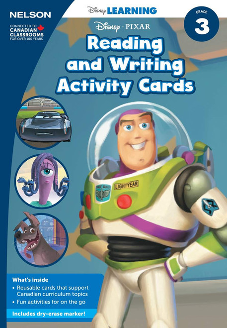 The Disney Learning Series - Reading and Writing Activity Cards - 3 - Front Cover