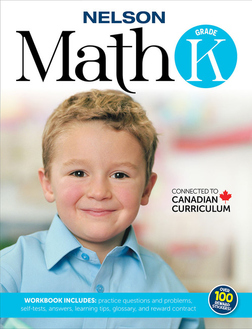 Nelson Math K - Workbook Front Cover