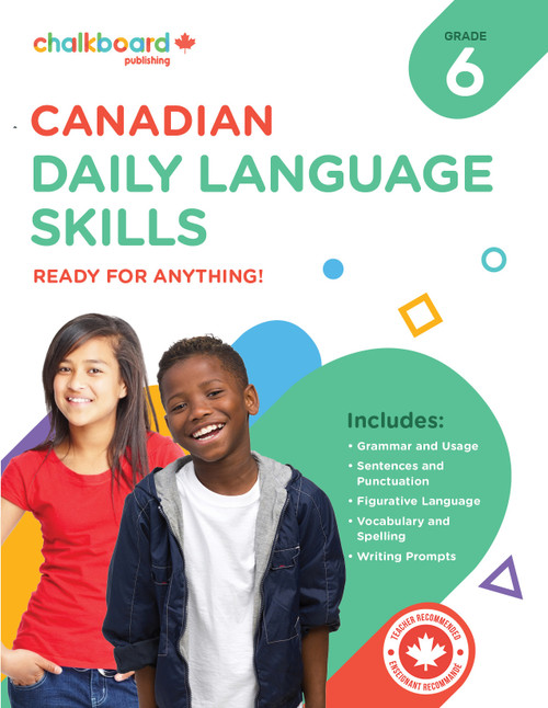 CANADIAN DAILY LANGUAGE SKILLS 6
