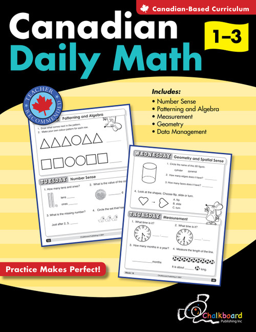 CANADIAN DAILY MATH GRADES 1-3