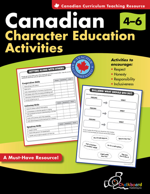 CANADIAN CHARACTER EDUCATION ACTIVITIES GRADES 4-6