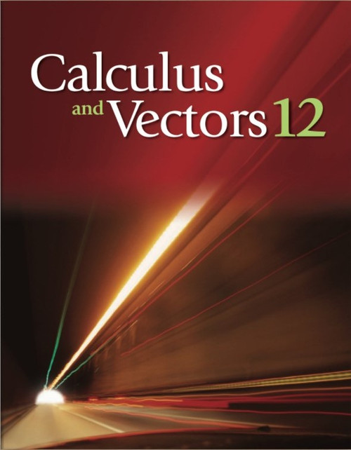 Calculus and Vectors 12 (12 Month Online Subscription)