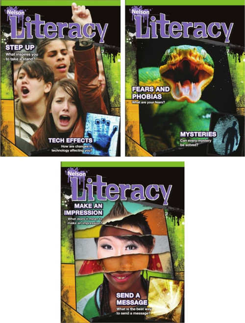 Nelson Literacy 7 - Student Ebooks (7A + 7B + 7C) (12 Month Online Subscription)