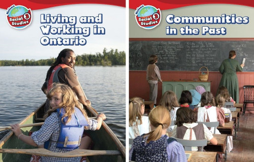 Nelson Social Studies - Grade 3: Strand A (Living and Working) & Strand B (Communities in the Past) - Student Ebook (12 Month Online Subscription)