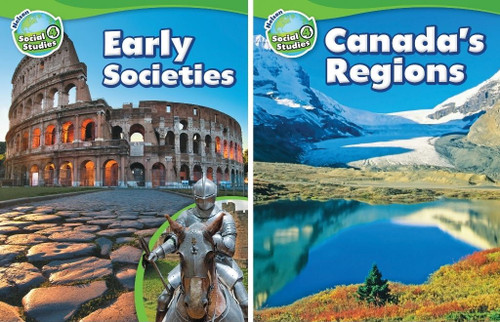 Nelson Social Studies - Grade 4: Strand A (Early Societies) & Strand B (Canada's Regions) - Student Ebook (12 Month Online Subscription)