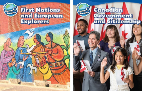 Nelson Social Studies - Grade 5: Strand A (First Nations and European Explorers) & Strand B (Canadian Government and Citizenship) - Student Ebook (12 Month Online Subscription)