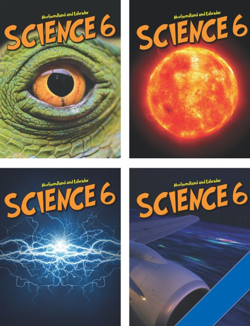 Newfoundland and Labrador Science 6 - Student Ebook (12 Month Online Subscription)