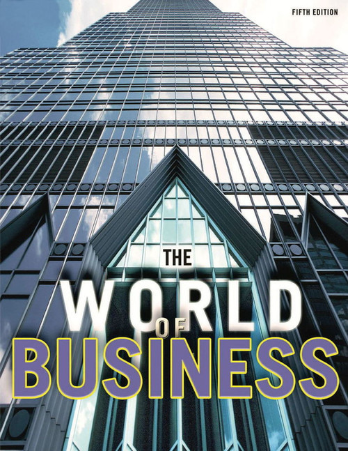The World of Business (5th Edition) - Online Student Centre (12 Month Online Subscription)