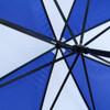 Manual Open Blue & White Canopy Umbrella - UM18054