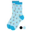 Women's Peace Sign  Novelty Socks - LNVS1901