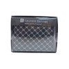 Bi-Fold Patterned Leather Men's Wallet - MLW5199-BK