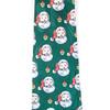 Boy's Santa Claus Christmas Zipper Tie - MPWZ-103