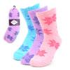 Assorted (3 Pairs) Women's Snowflakes Warm Fuzzy Socks - 3PR-LFS2