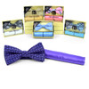 12pc Pack Assorted Bow Tie, Matching Hanky Set BTHB5000S