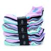 Assorted (6 pairs/pack) Women's Low Cut Marijuana Socks - LN6F1640-PT