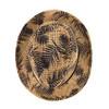 Tropical Palm Leaves Kid's Wide Brim Fedora Hat - BF180602