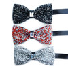 Sparkling Crystal Men's Bow Tie - CRBT