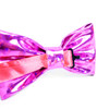 Men's Metallic Fuchsia PU Bow Tie - MBT-FA