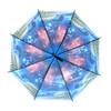 Europe Scenery Fireworks Plastic Canopy Umbrella - UM18074