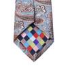 Paisley Microfiber Poly Woven Tie & Hanky Set- MPWTH1807-8-9