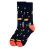 Men's Amusement Park Novelty Fun Socks - NVS19406-NV