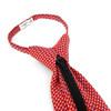 Men's Red Dots Zipper Tie - MPWZ-RD3