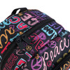 Peace Lettering School Backpack - FBP1206