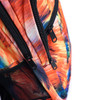 Orange Abstract School Backpack - FBP1208