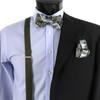 12pc  Paisley Bow Tie, Hanky & Suspenders Sets- BTHSU-PSY12ASST