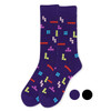 Men's Novelty Tetris Game Socks